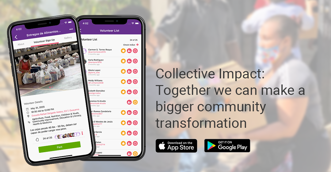 Collective Impact: Together we can make a bigger community transformation